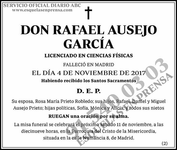 Rafael Ausejo García